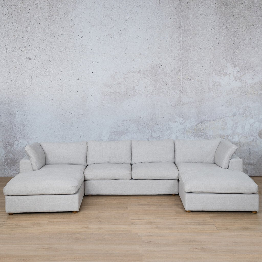 Skye Fabric Sofa U-Chaise Sectional