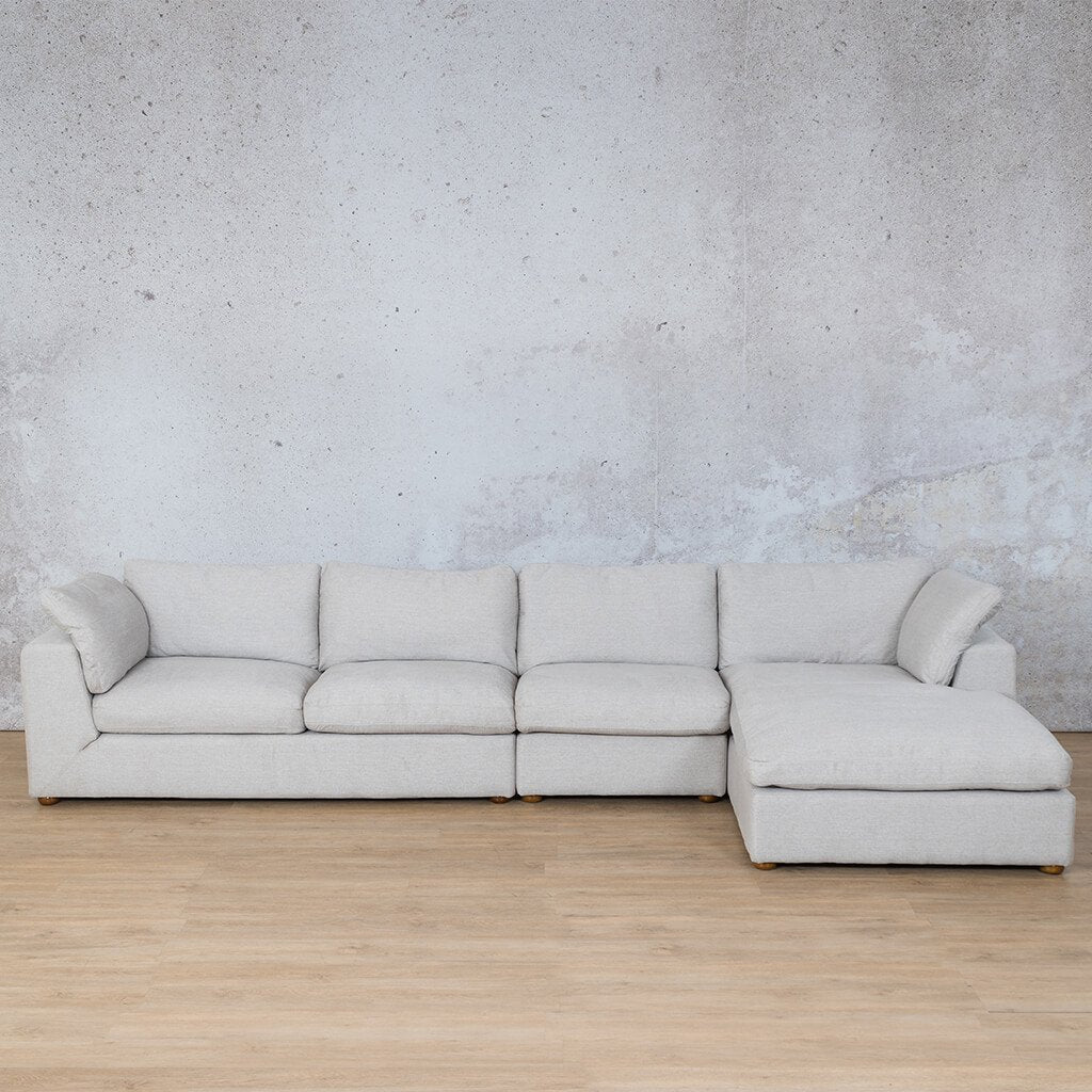 Skye Fabric Sofa Chaise Modular Sectional - RHF