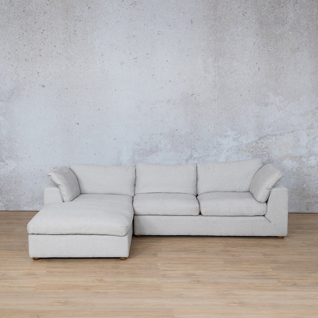 Skye Fabric Corner Couch | Chaise Sectional-LHF | Oyster-A | Couches For Sale | Leather Gallery Couches