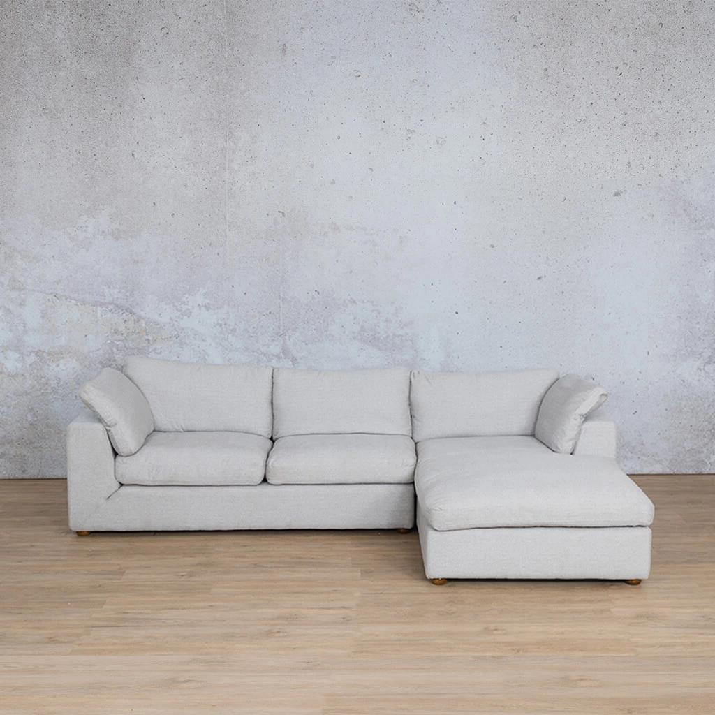 Skye Fabric Corner Couch | Chaise Sectional-RHF | Oyster-A | Couches For Sale | Leather Gallery Couches