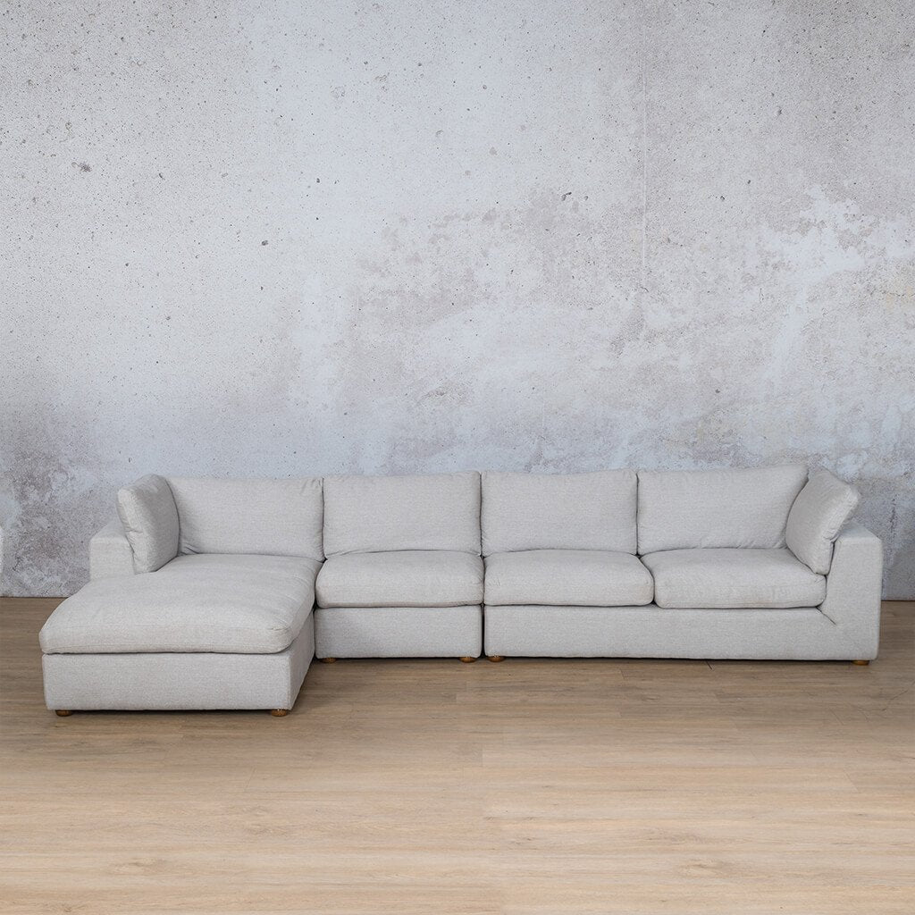 Skye Fabric Corner Couch | Chaise Modular Sectional-LHF | Oyster-A | Couches For Sale | Leather Gallery Couches