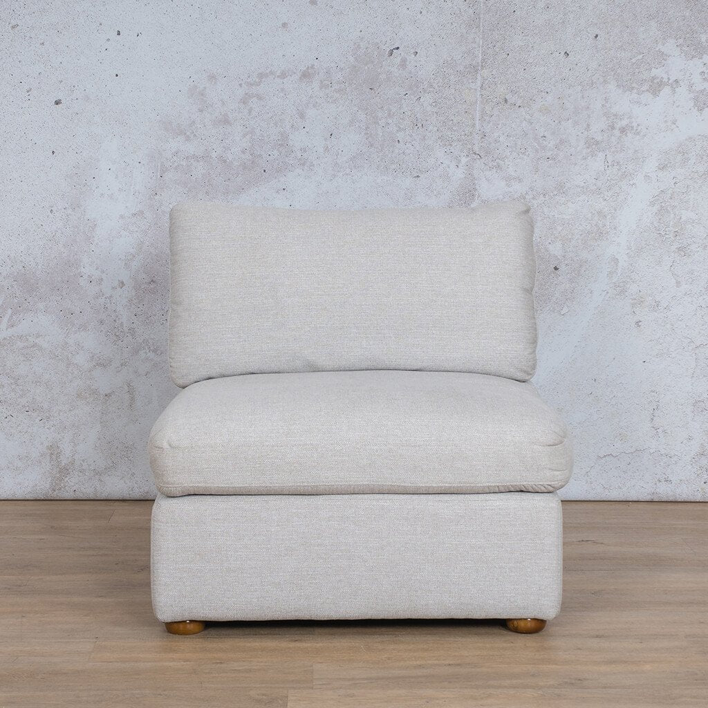 Skye Fabric Armless Chair