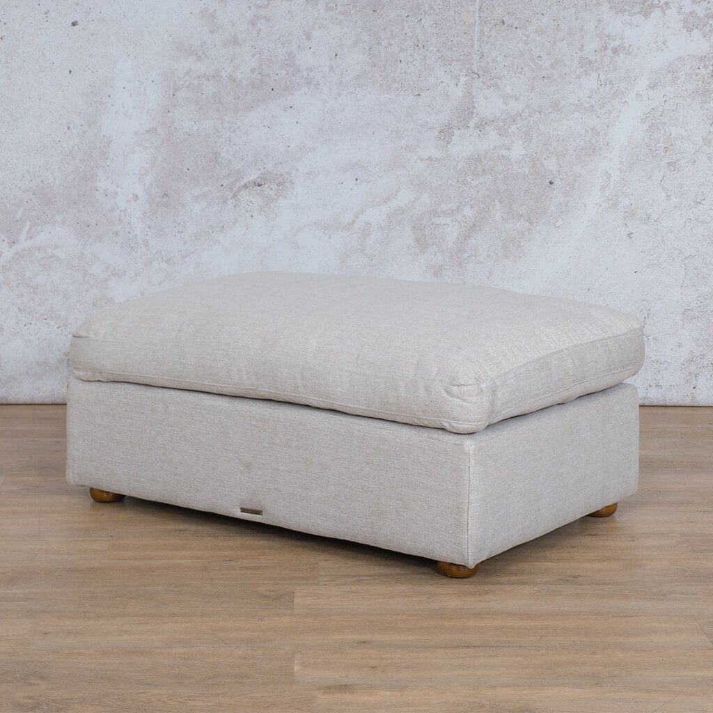 Skye Fabric Ottoman | Leather Gallery