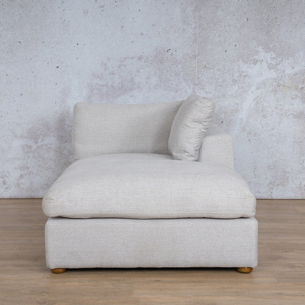 Skye Fabric Corner Couch | Chaise Left Arm | Oyster-A | Couches For Sale | Leather Gallery Couches