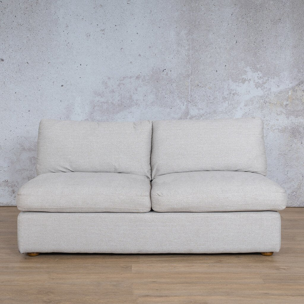 Skye Fabric Armless 2 Seater