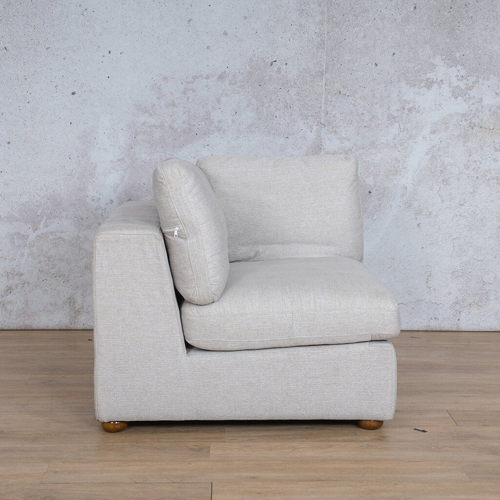 Skye Fabric 1 Seater Left Arm
