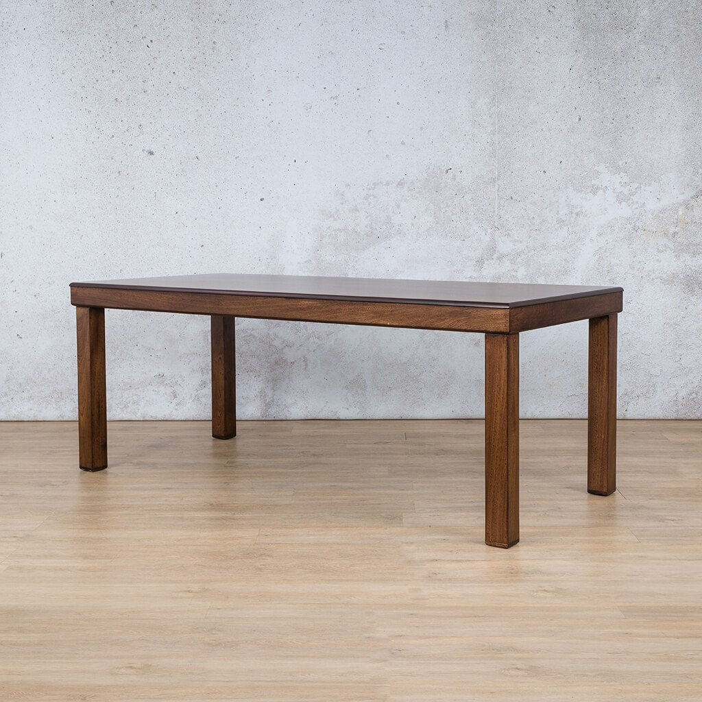 Urban Dining Table | Angled Length View | Dining sets for Sale | Wood | Leather Gallery Dining Sets