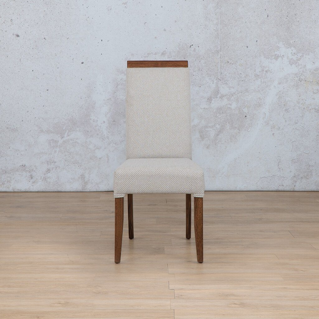 Urban Dining Chair | 1 Seater Dining Chair | Dapple | Front Angled | Dining sets for Sale | Wood | Leather Gallery Dining Sets