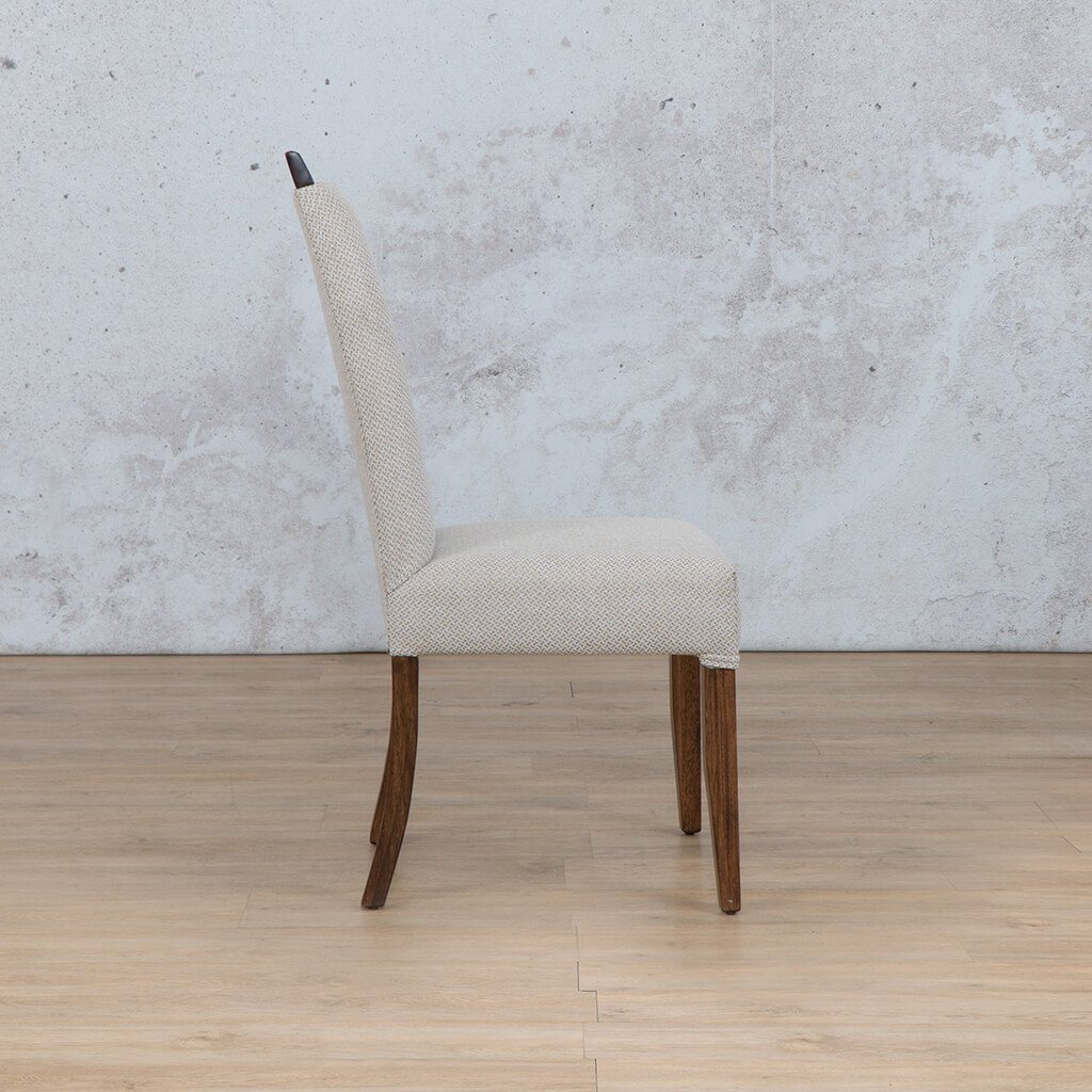 Urban Dining Chair | 1 Seater Dining Chair | Dapple | Side | Front Angled | Dining sets for Sale | Wood | Leather Gallery Dining Sets