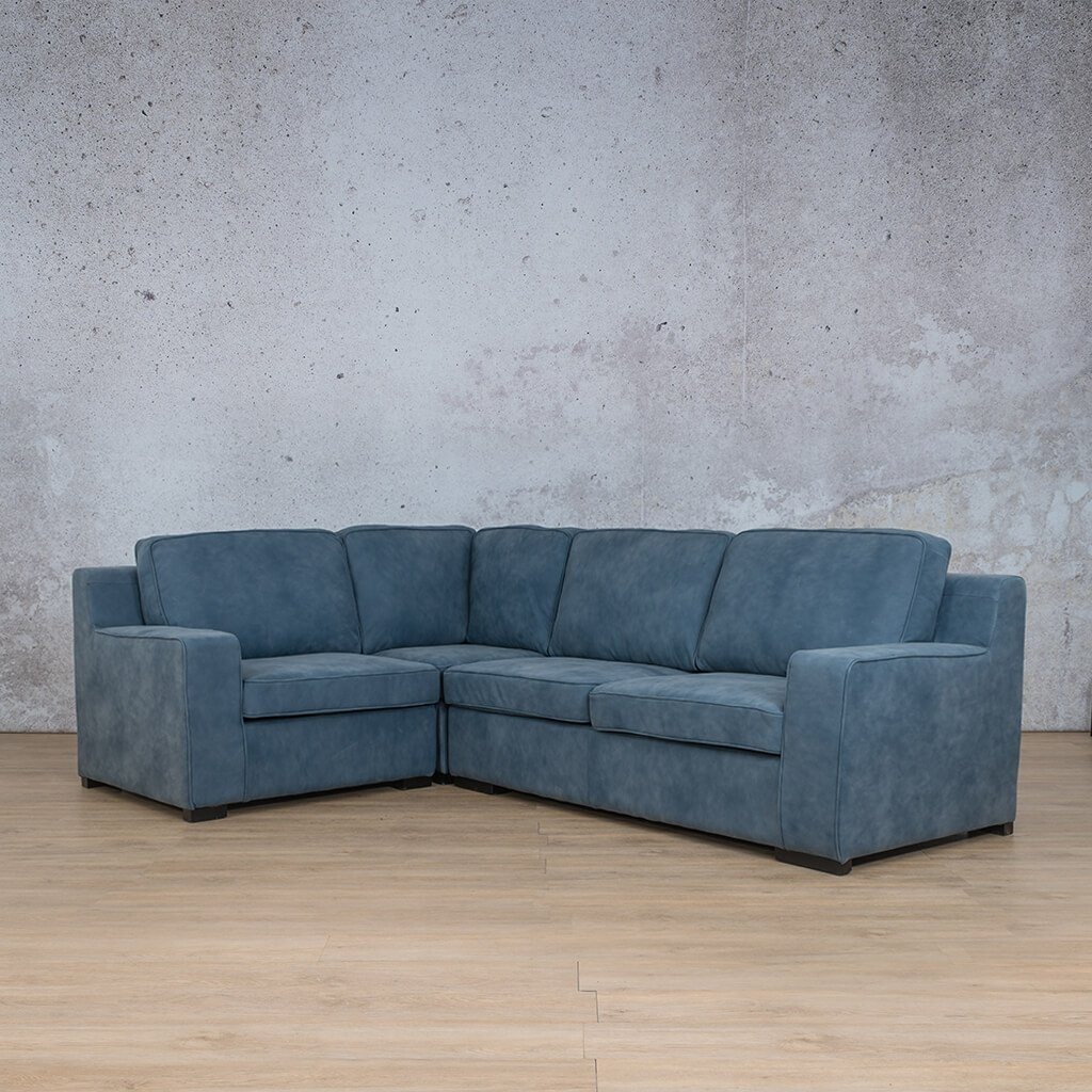 Arizona Leather L-Sectional 4 Seater - LHF