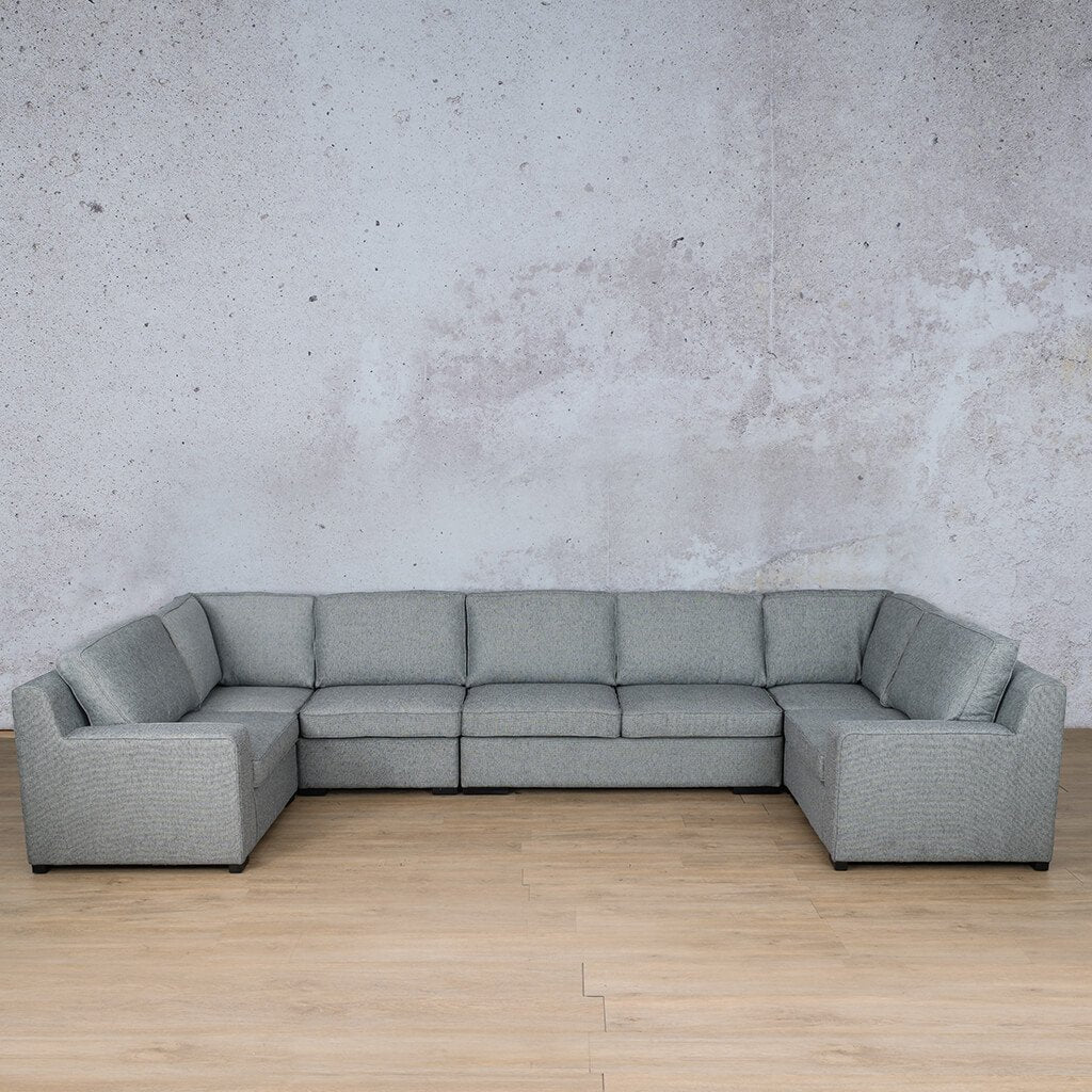 Arizona Fabric Modular U-Sofa Sectional