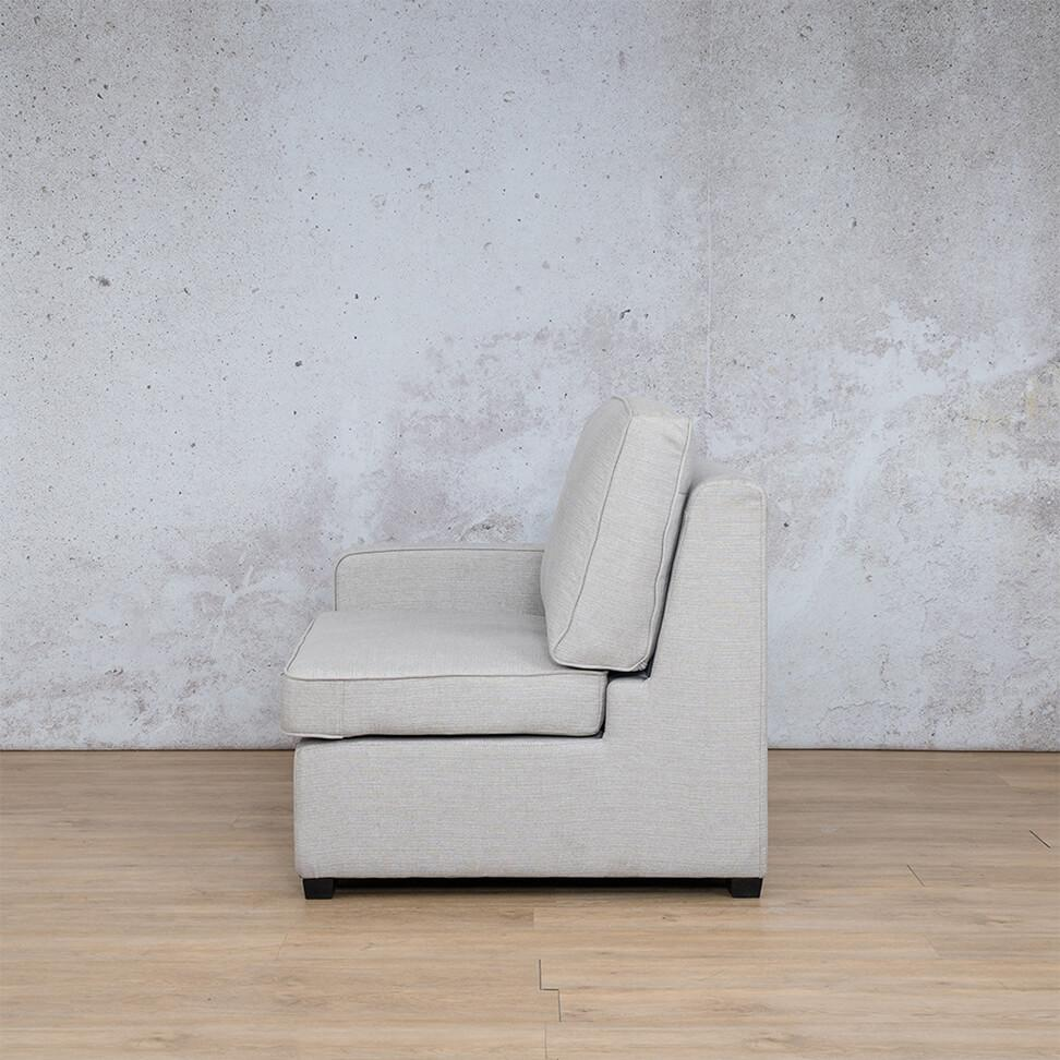 Arizona Fabric | 1 Seater Right Arm Left Side | Oyster | Leather Gallery