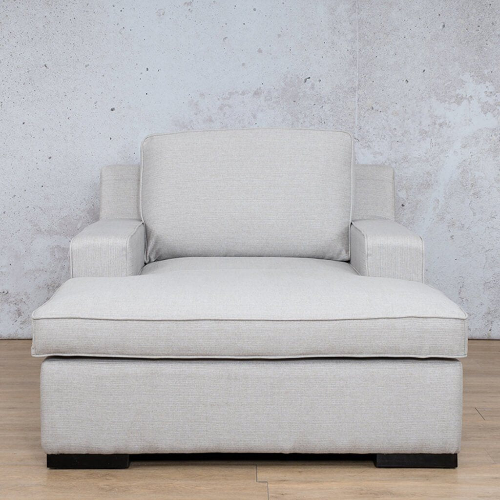 Arizona Fabric Couch | 2 Arm Chaise | 1 Seater Couch | Oyster-A | Couches For Sale | Leather Gallery Couches