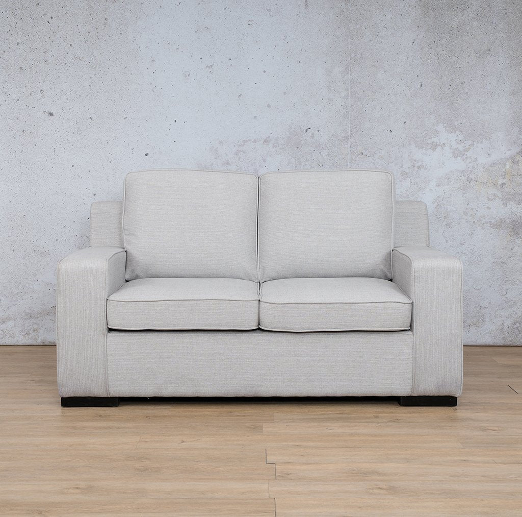 Arizona Fabric Couch | 2 seater couch | Oyster-A | Couches for Sale | Leather Gallery Couches