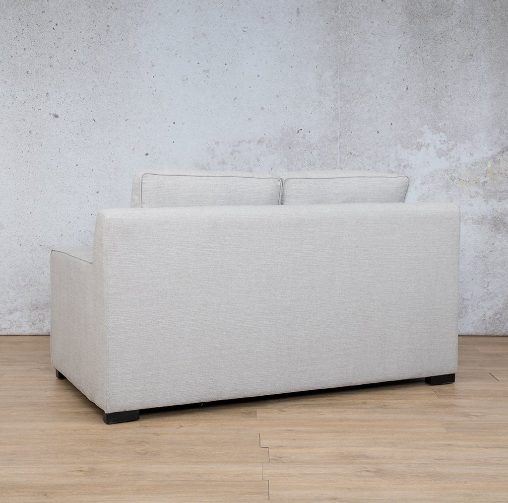 Arizona Fabric Couch | 2 seater couch | Oyster-A | Back Angled |Couches for Sale | Leather Gallery Couches