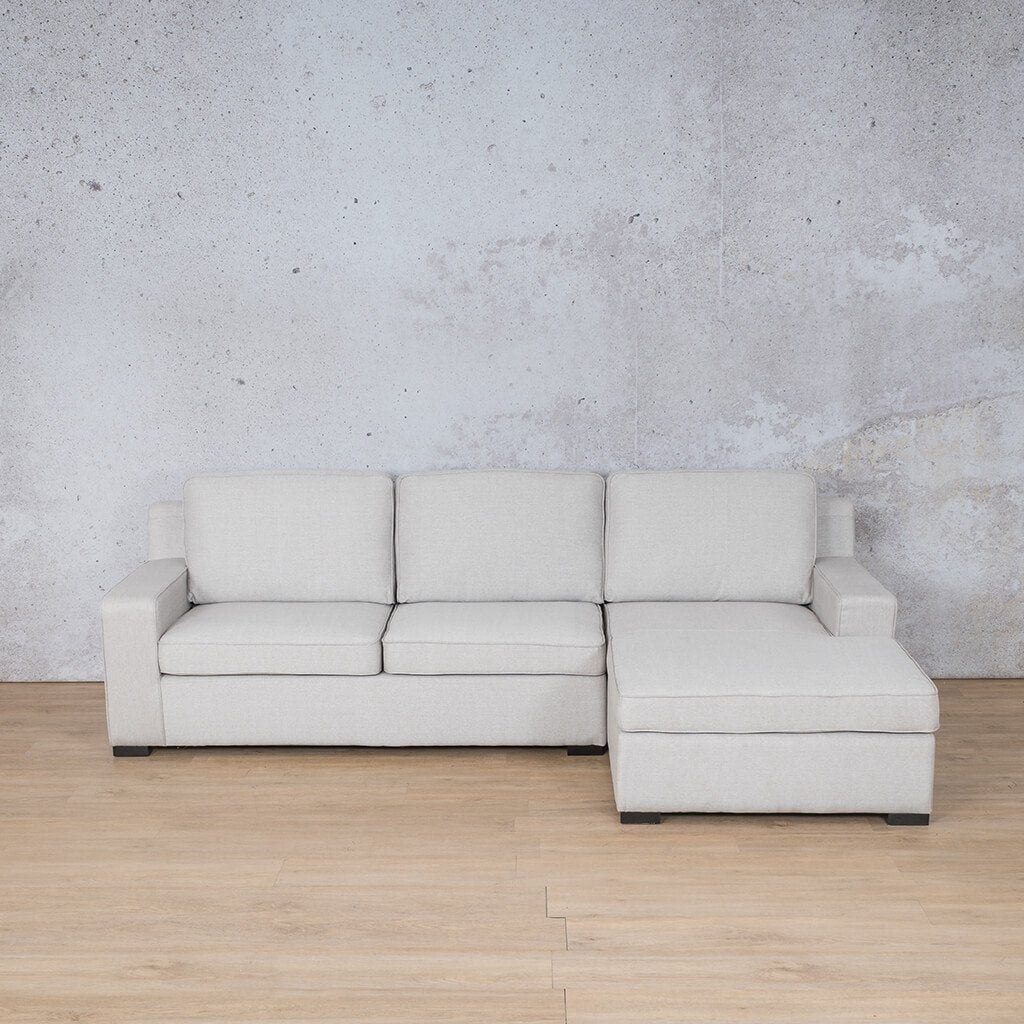 Arizona Fabric Corner Couch | Sofa Sectional-RHF | Oyster-A | Couches For Sale | Leather Gallery Couches