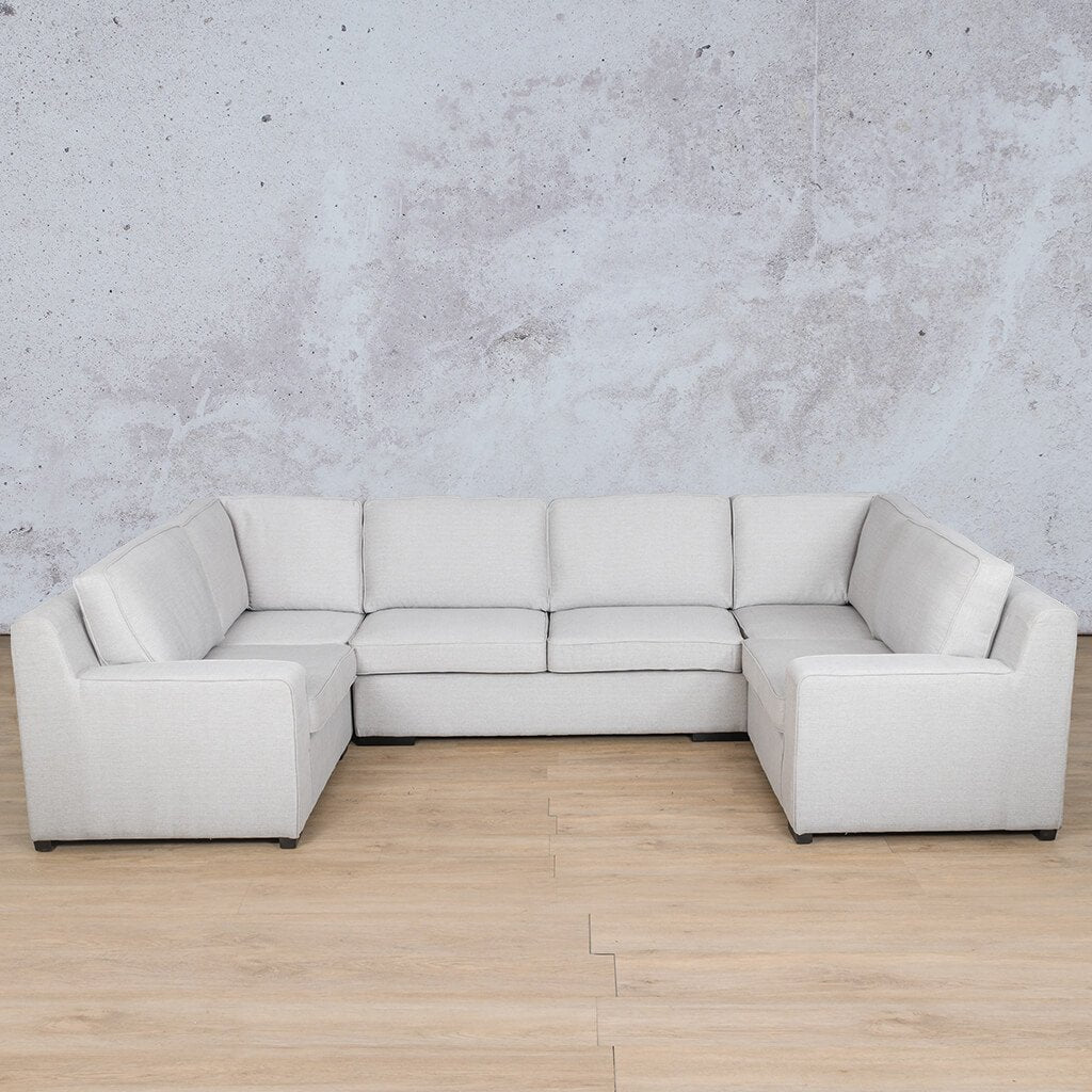 Arizona Fabric U-Sofa Sectional