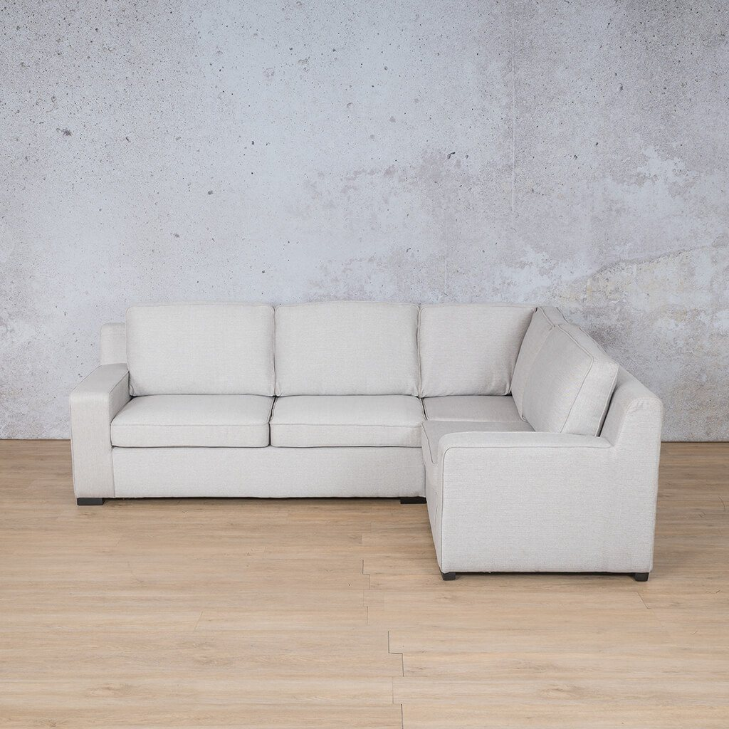Arizona Fabric Couch | L-Sectional 4 Seater RHF | Oyster-A | Couches For Sale | Leather Gallery Couches