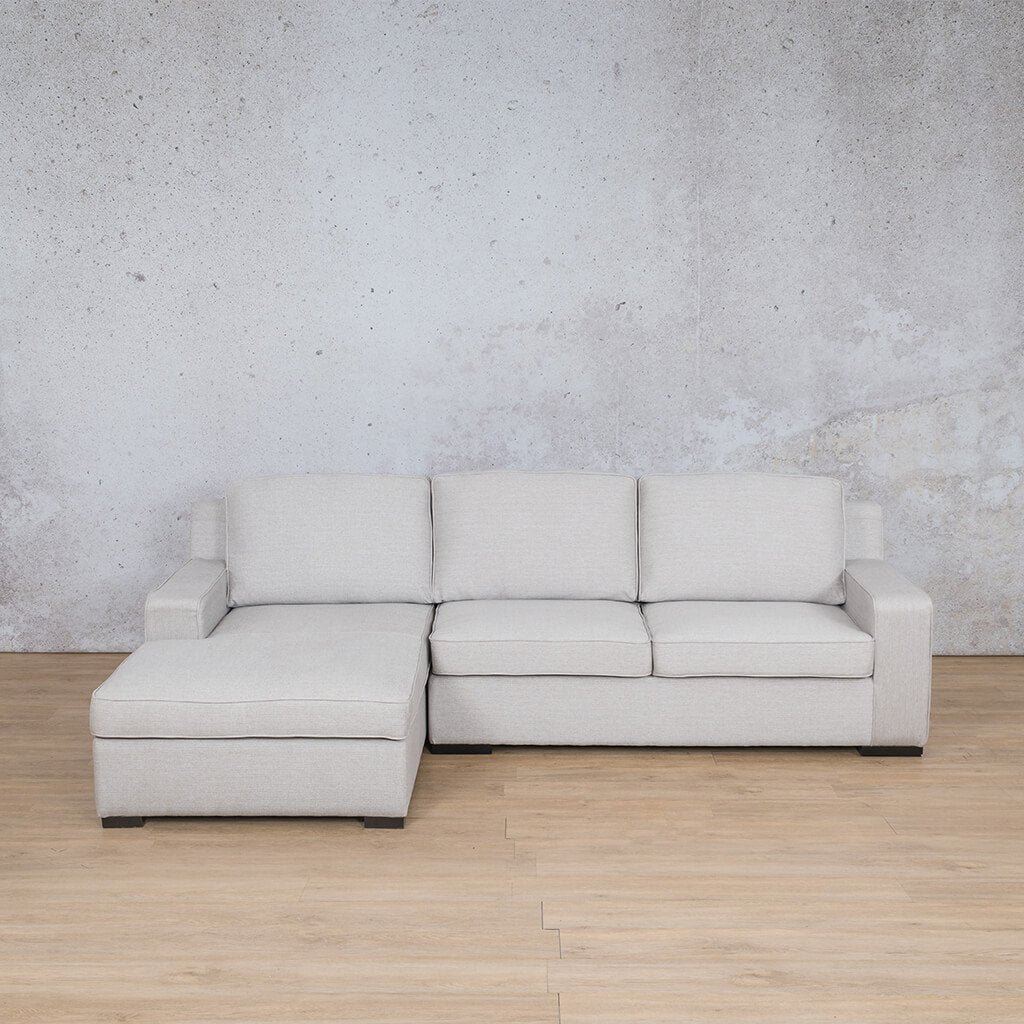 Arizona Fabric Corner Couch | Sofa Sectional-LHF | Oyster-A | Couches For Sale | Leather Gallery Couches