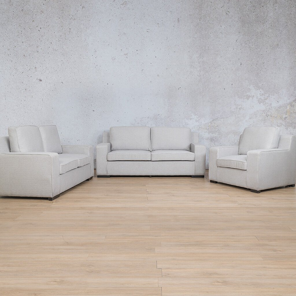 Arizona Fabric Corner Couch | 3-2-1 Seater Couch | Oyster-A | Couches For Sale | Leather Gallery Couches