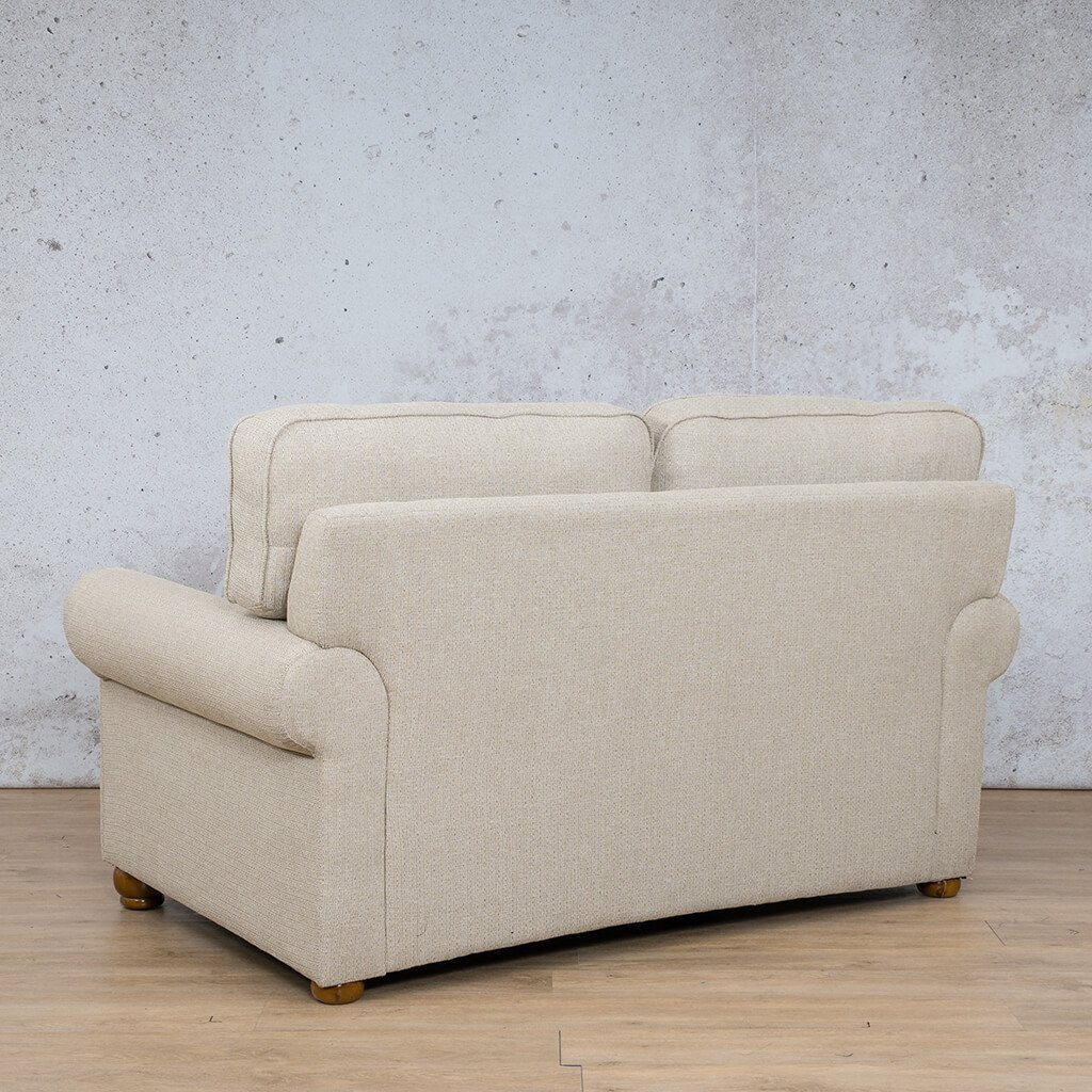 Salisbury Fabric  Couch | 2 Seater Couch | Couches for Sale | Riverside S | Back Angled | Leather Gallery Couches