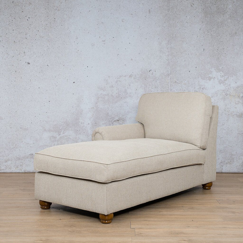 Salisbury Fabric Chaise Right Arm