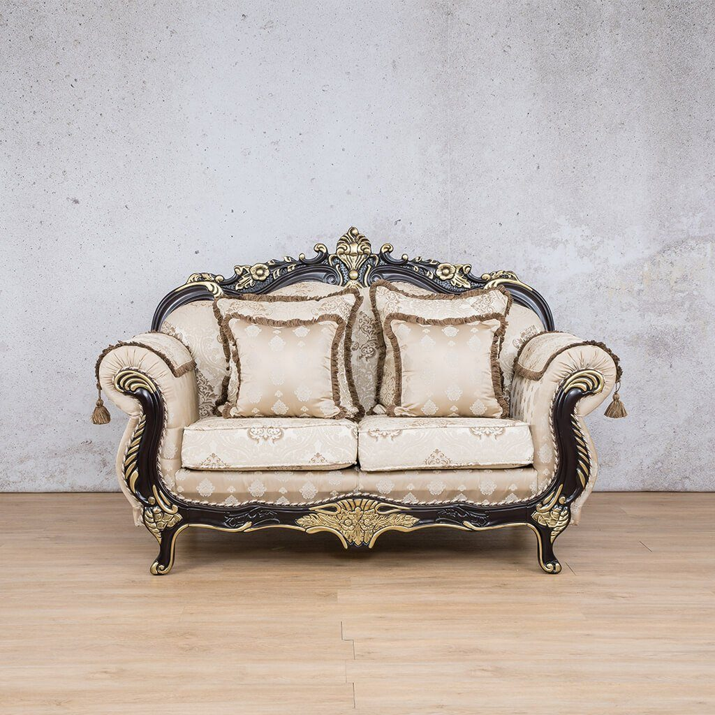 Berlin Fabric Couch | 2 seater couch | Beige-B | Couches for Sale | Leather Gallery Couches