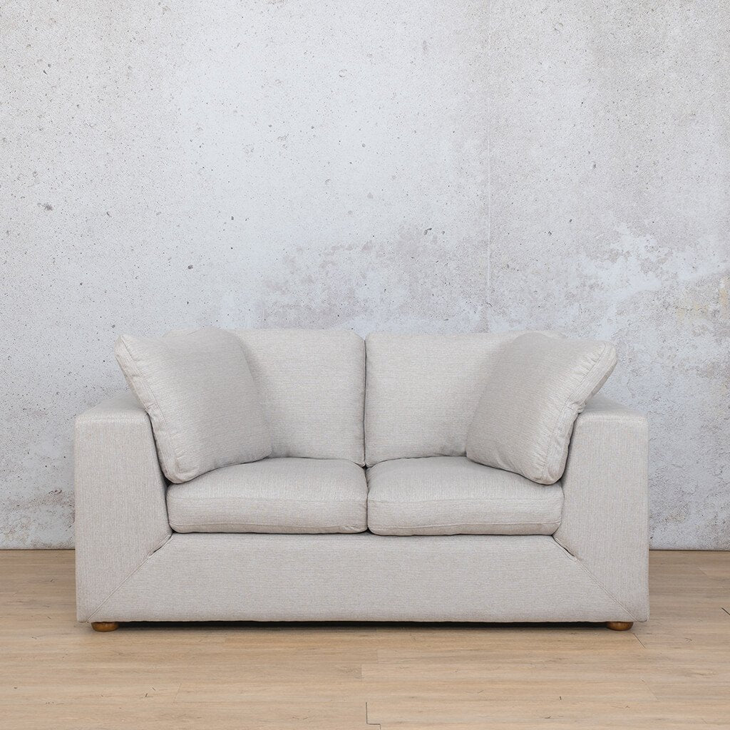 Skye Fabric Corner Couch | 2 Seater Couch | Oyster-A | Couches For Sale | Leather Gallery Couches