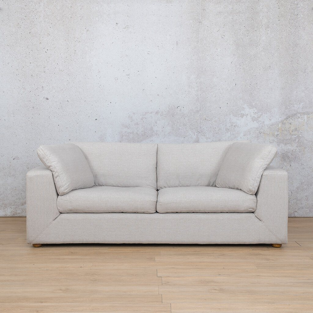 Skye Fabric Corner Couch | 3 Seater Couch | Oyster-A | Couches For Sale | Leather Gallery Couches