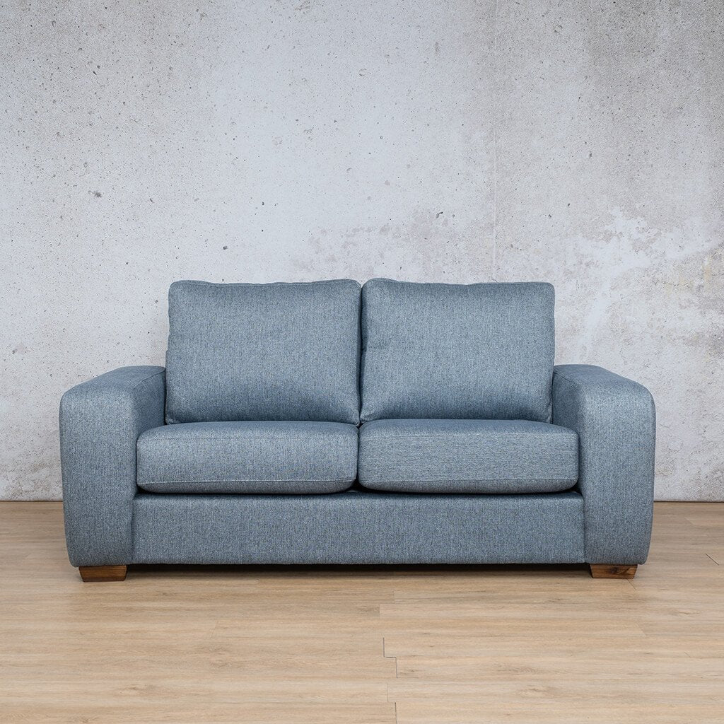 Stanford Fabric Couch | 2 seater couch | Navy-S | Couches for Sale | Leather Gallery Couches