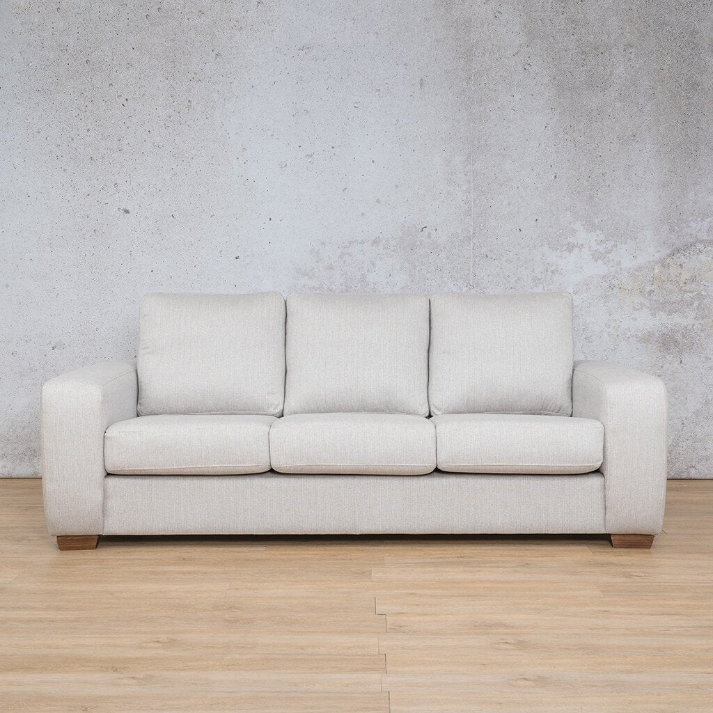 Stanford Fabric Couch | 3 seater couch | Oyster | Couches for Sale | Leather Gallery Couches