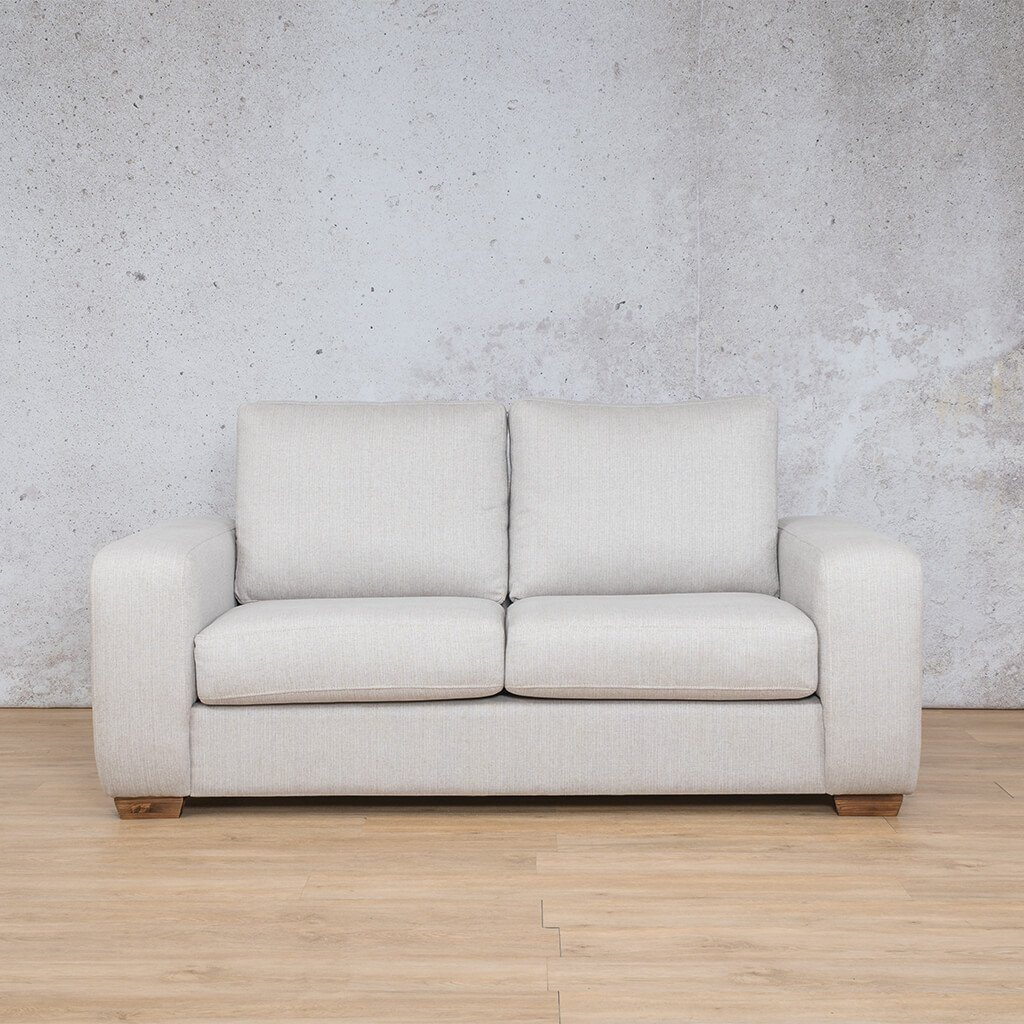 Stanford Fabric Couch | 2 seater couch | Oyster | Couches for Sale | Leather Gallery Couches