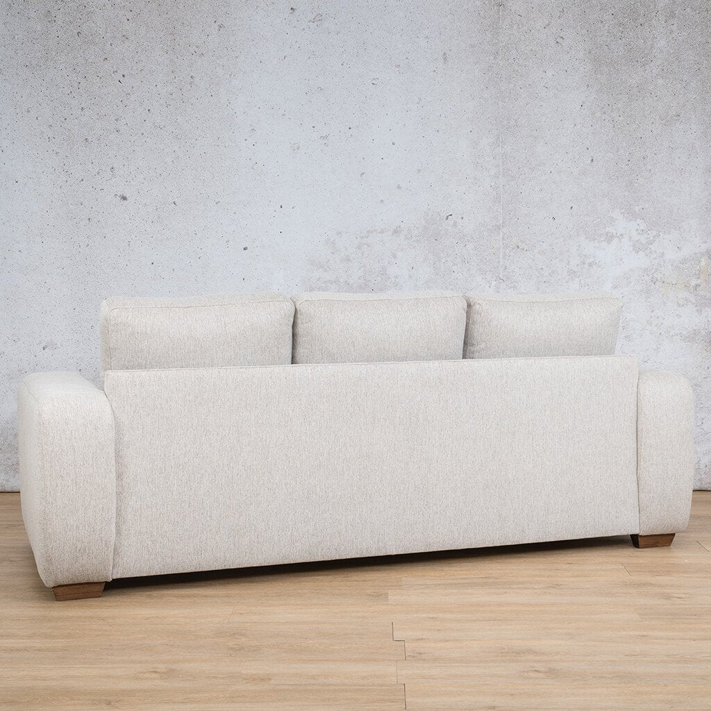 Stanford Fabric Couch | 3 seater couch | Pebble-S | Back Angled | Couches for Sale | Leather Gallery Couches
