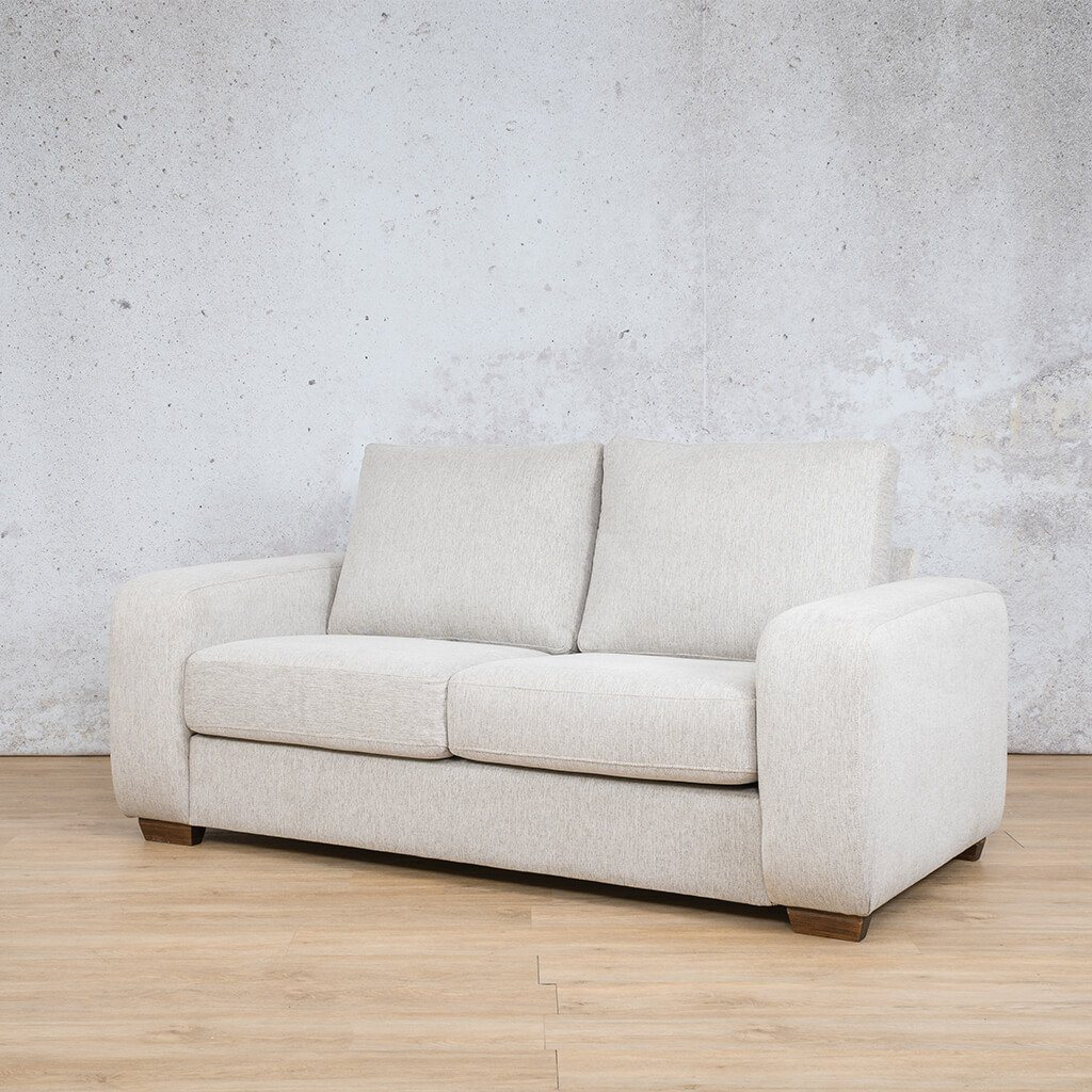 Stanford Fabric Couch | 2 seater couch | Peddle-S | Front Angled | Couches for Sale | Leather Gallery Couches