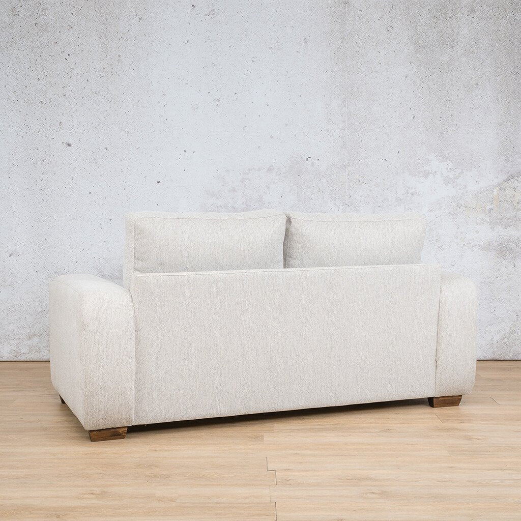 Stanford Fabric Couch | 2 seater couch | Oyster | Back Angled |Couches for Sale | Leather Gallery Couches