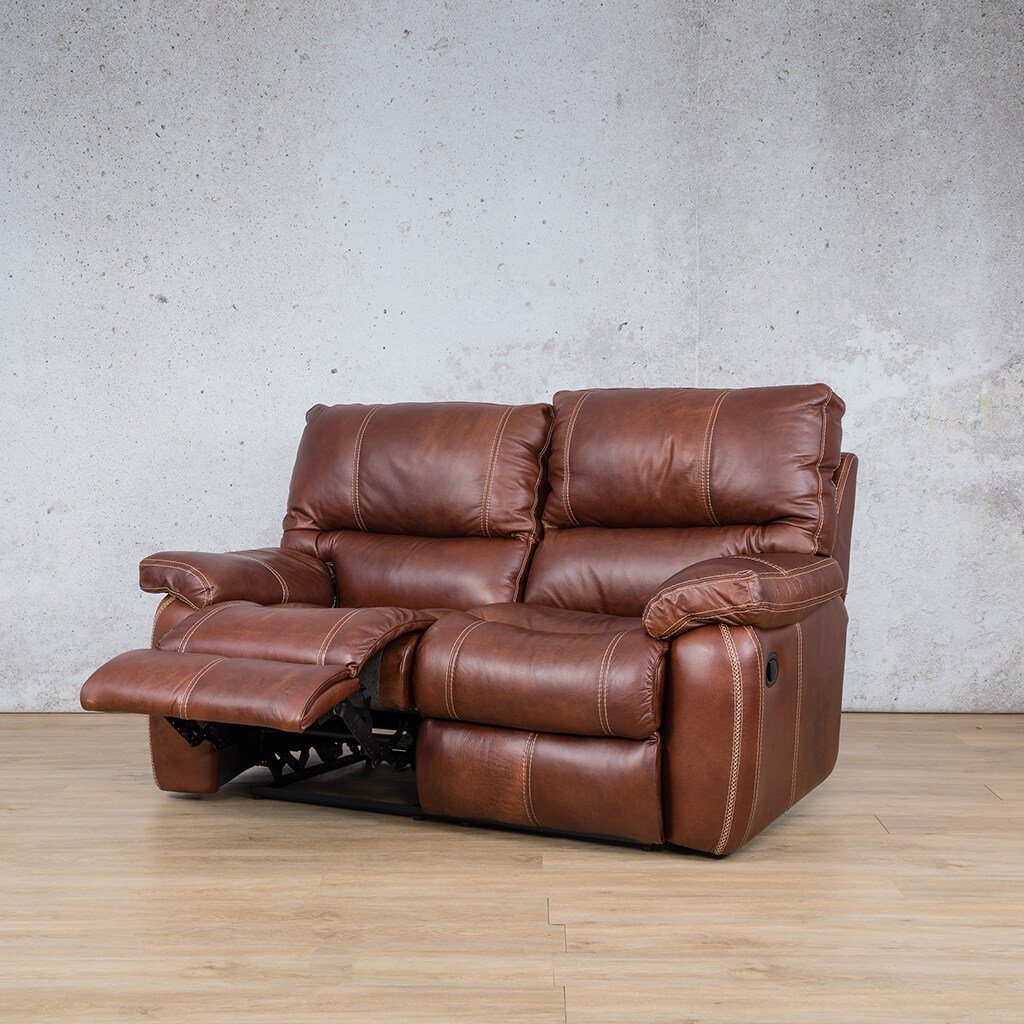 Senora 2 Seater Leather Recliner