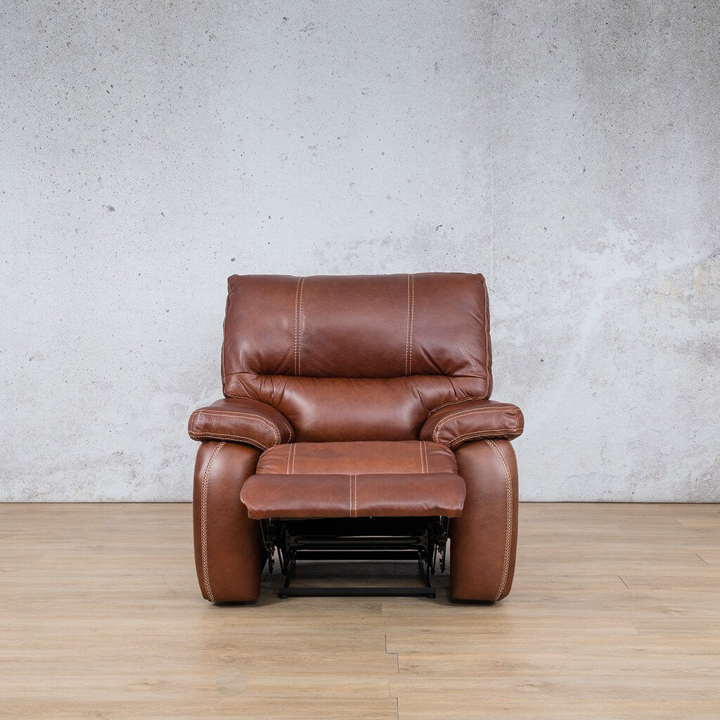 Senora 1 Seater Leather Recliner