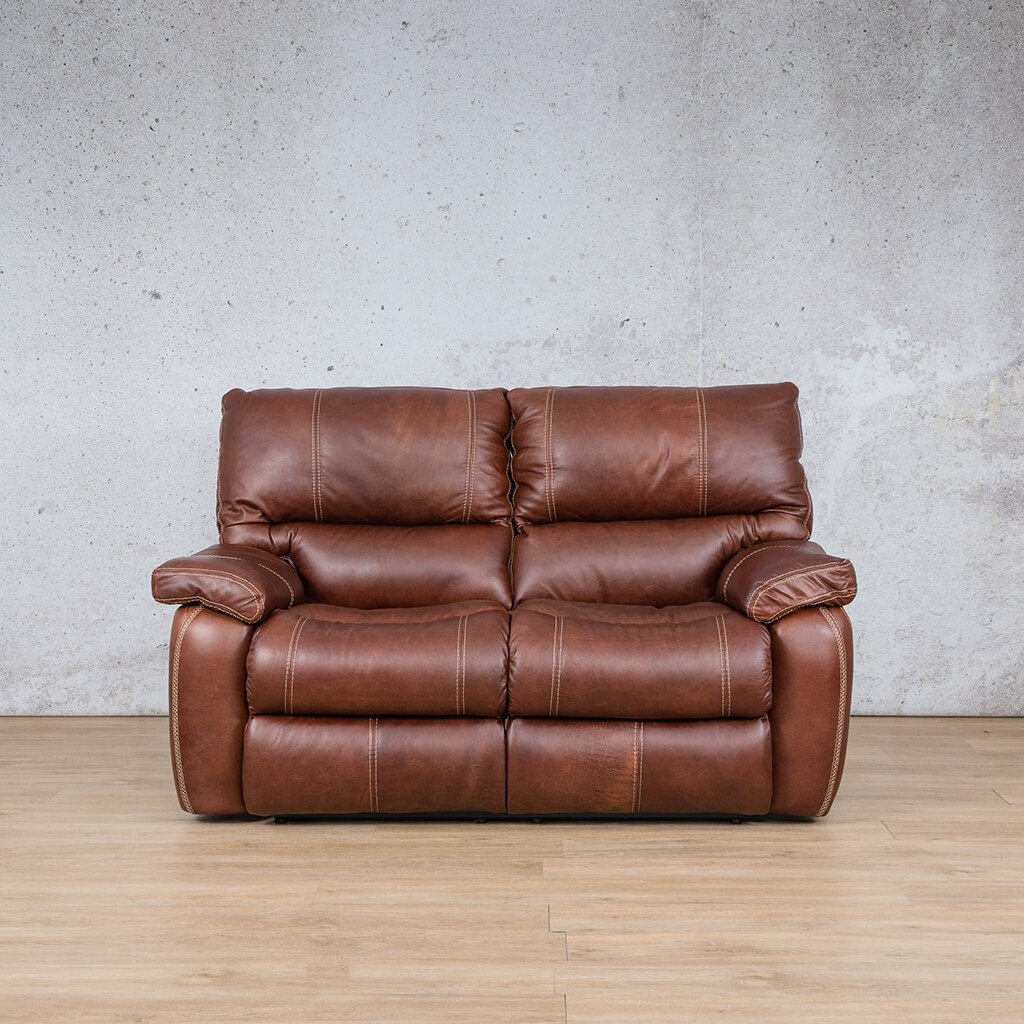 Senora Leather Recliner Couch | 2 Seater Couch | Odingo Bark-S | Couches For Sale | Leather Gallery Couches