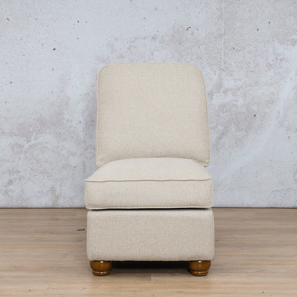 Salisbury Fabric Armless Chair