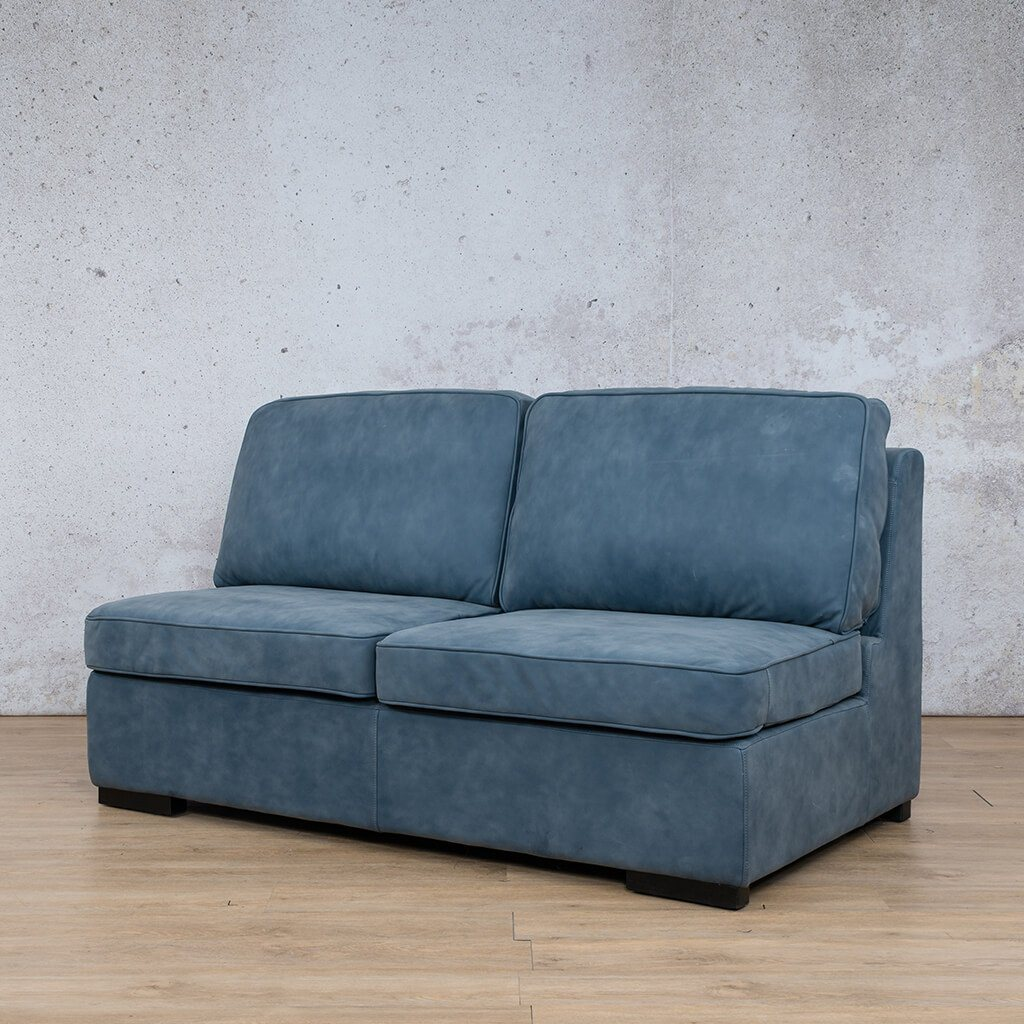 Arizona Leather Armless 2 Seater