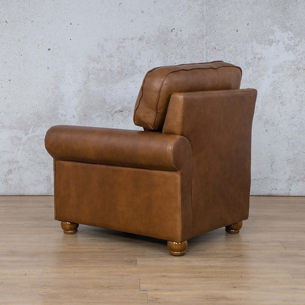 Salisbury Leather 1 Seater Left Arm