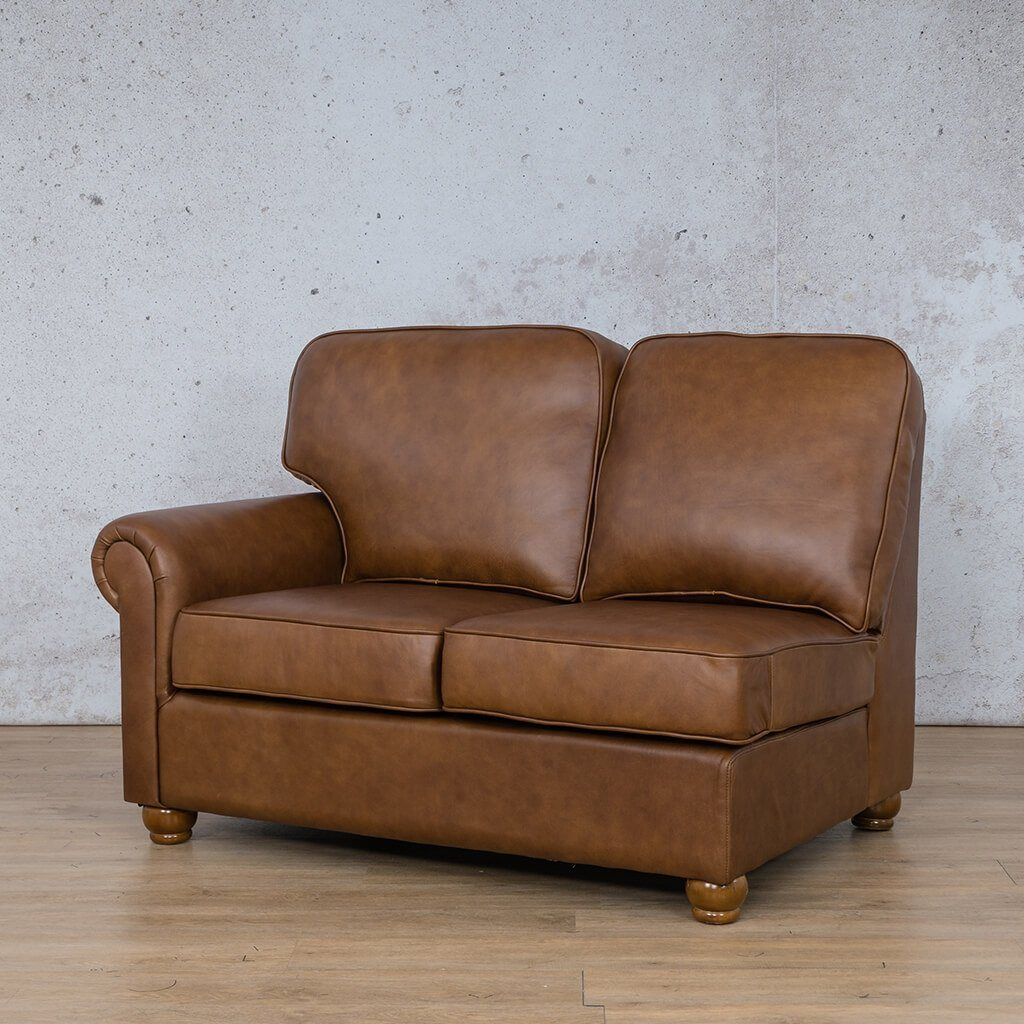 Salisbury Leather 2 Seater Right Arm