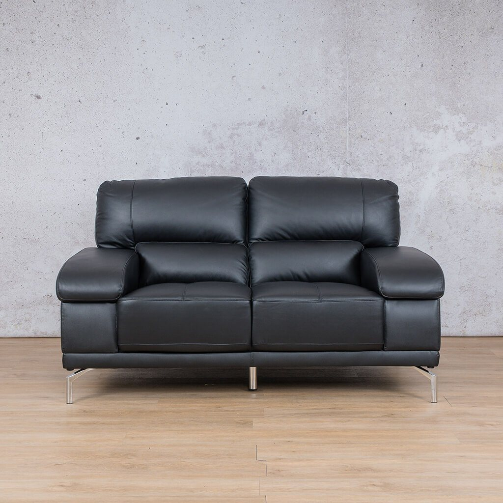 Adaline Leather Couch | 2 Seater Couch | Couches for Sale | Black-6 | Leather Gallery Couches