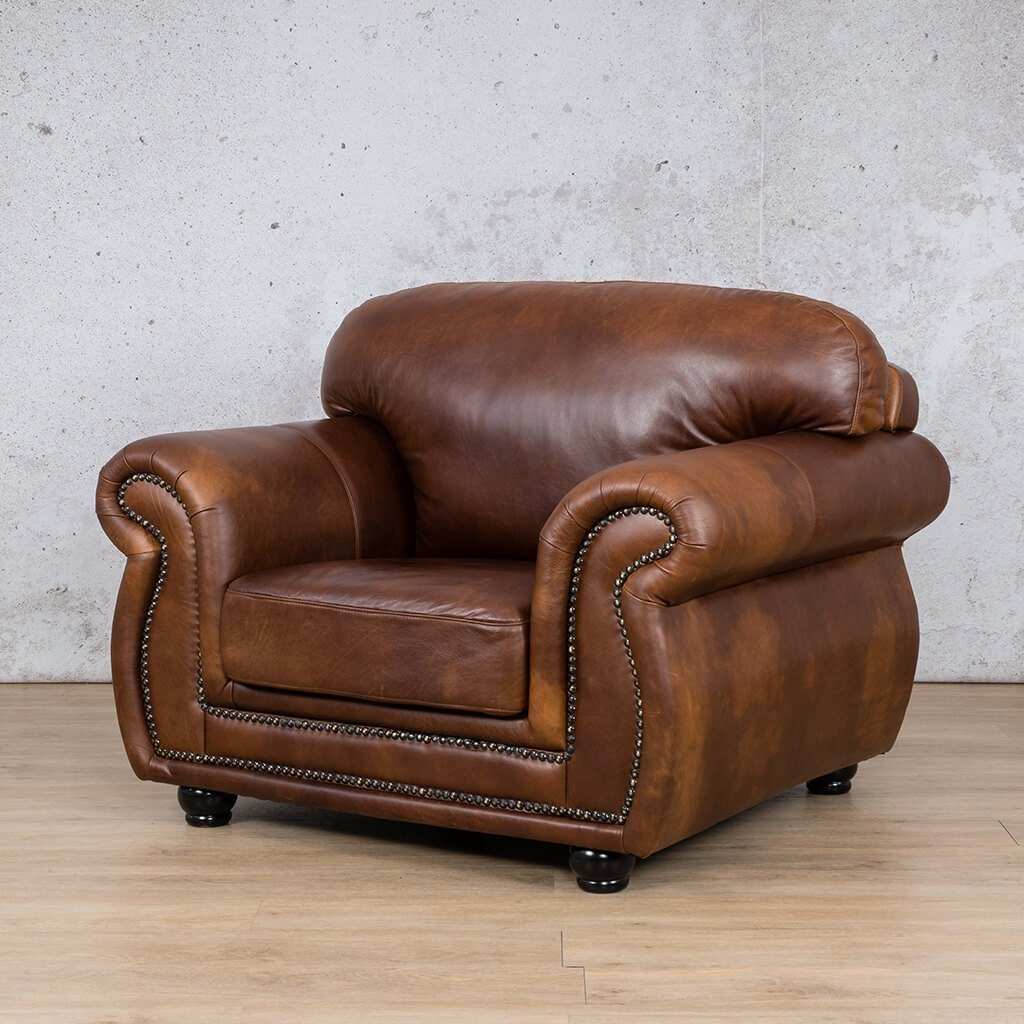 Isilo 1 Seater Leather Sofa