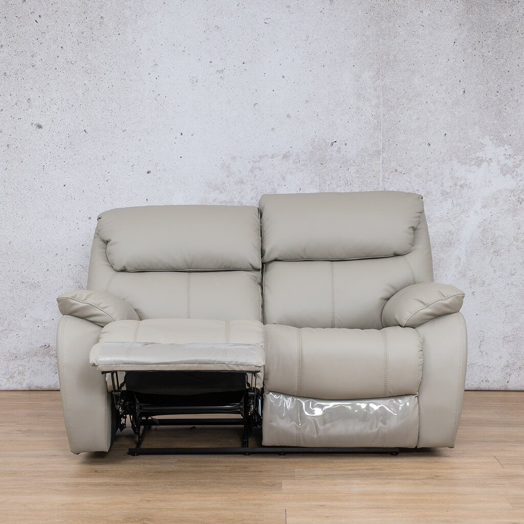 Kuta 2 Seater Leather Recliner