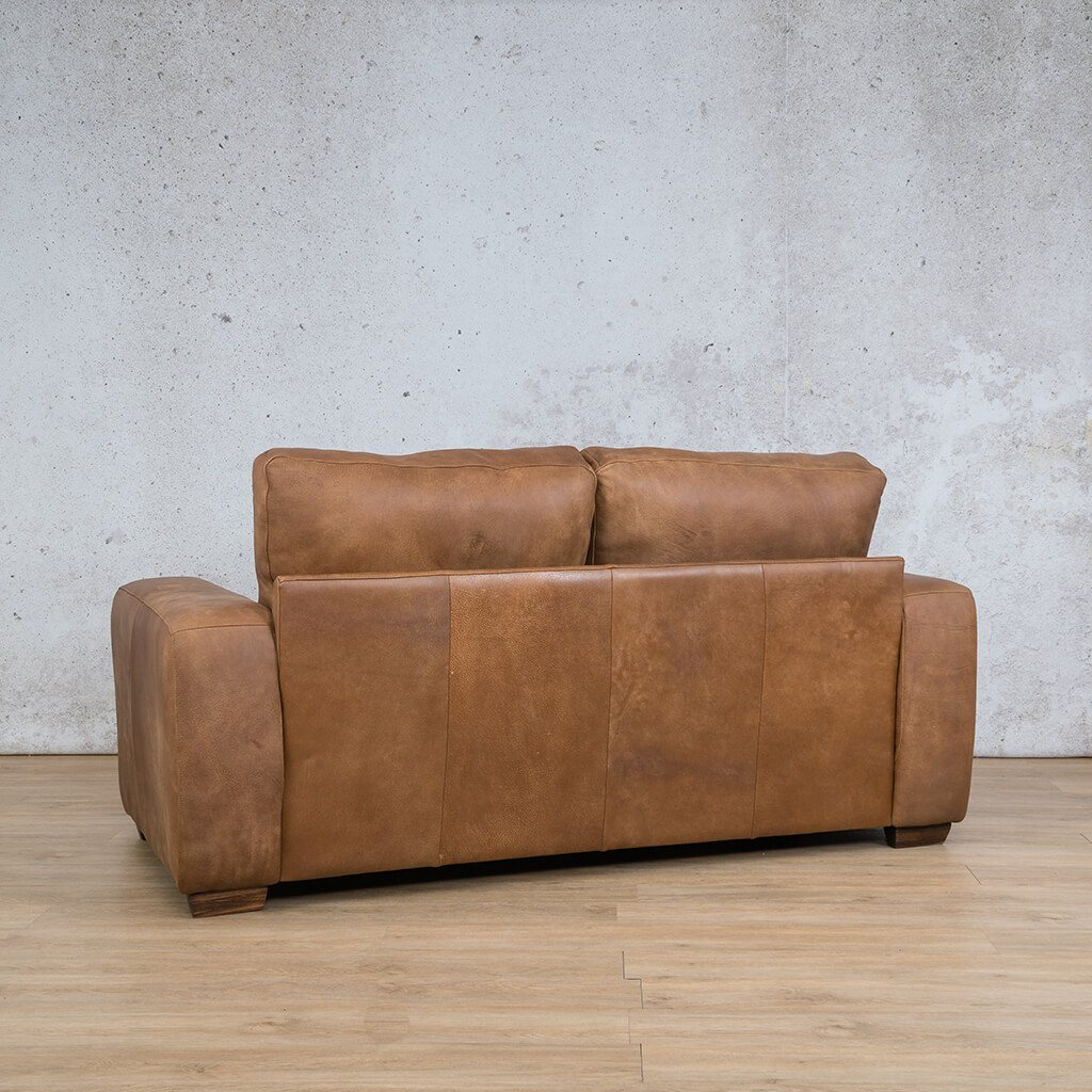 Stanford Leather Couch | 2 seater couch | Fudge-S | Back Angled | Couches for Sale | Leather Gallery Couches