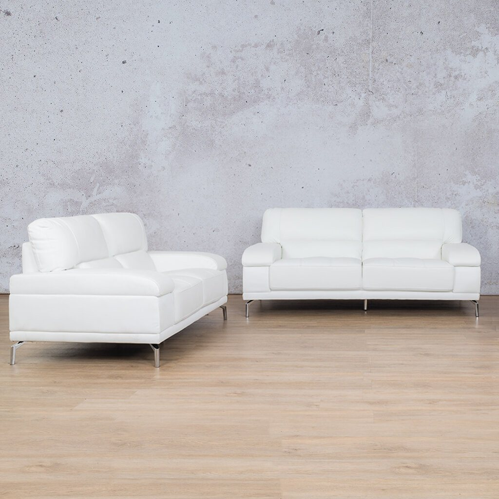 Adaline Leather Couches | 3-2 Seater Couches | Couches for Sale | White-6 | Leather Gallery Couches