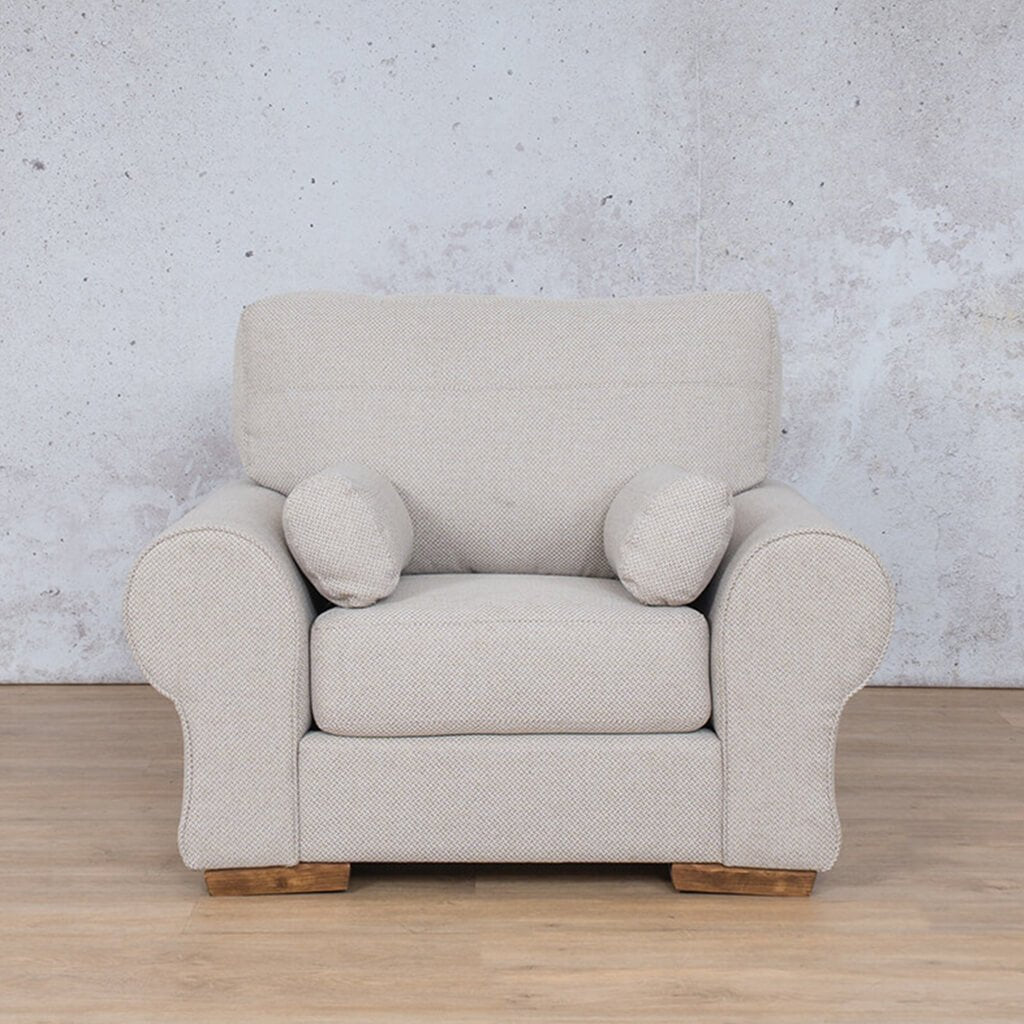 Carolina Fabric Couch | 1 seater couch | Dapple-C | Couches for Sale | Leather Gallery Couches