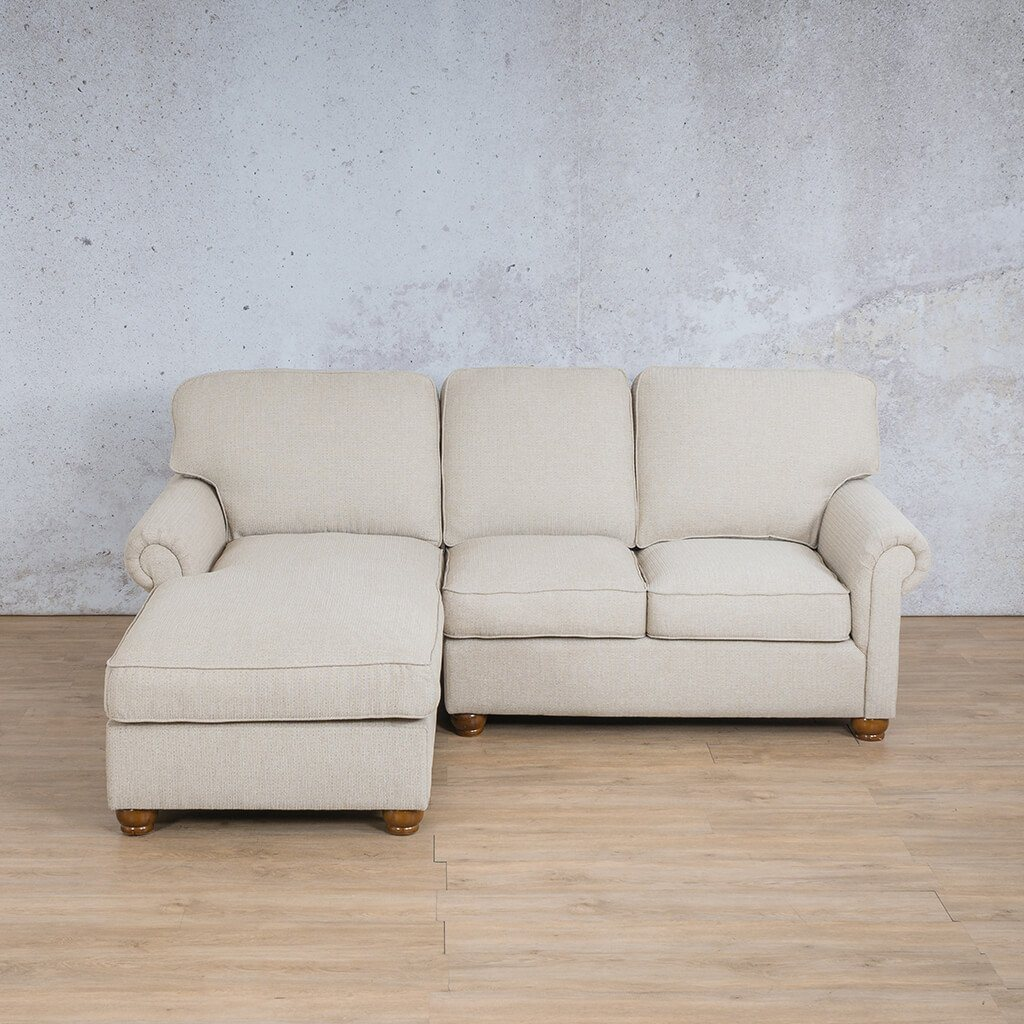 Salisbury Fabric Corner Couch | Chaise Sectional-LHF | Riverside-S | Couches For Sale | Leather Gallery Couches