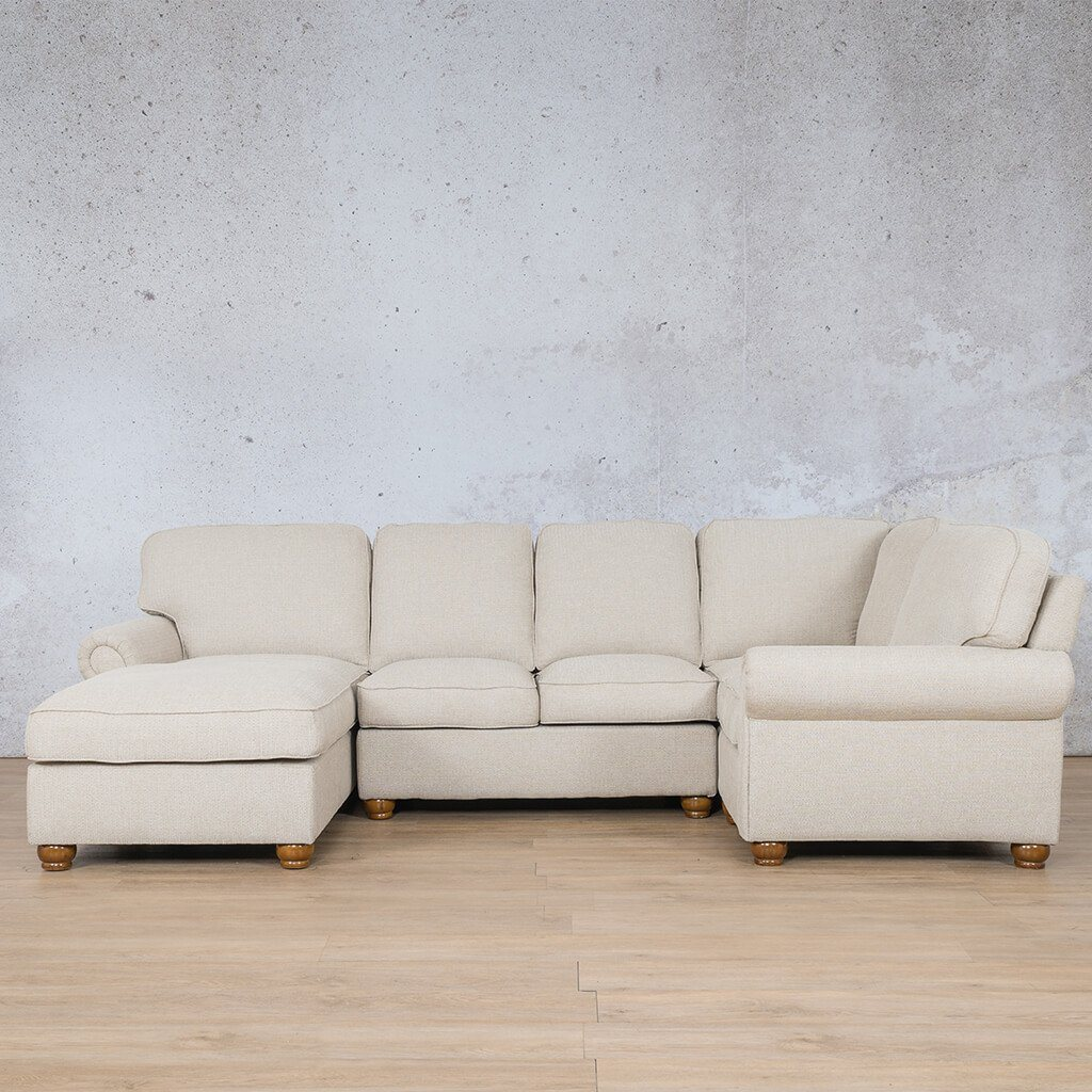 Salisbury Fabric Corner Couch | Customisable Sectional | Riverside-S | Couches For Sale | Leather Gallery Couches
